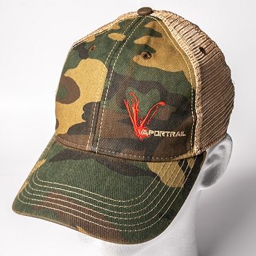 Vapor Trail Camo Trucker