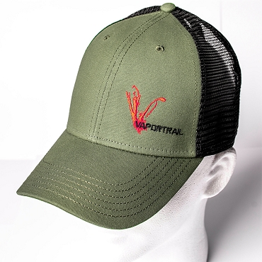 Vapor Trail OD Green Black Trucker
