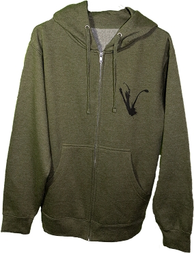 OD GREEN QUIT YOUR CRYING HOODIE