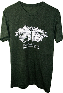 FOREST GREEN SHORT SLEEVE