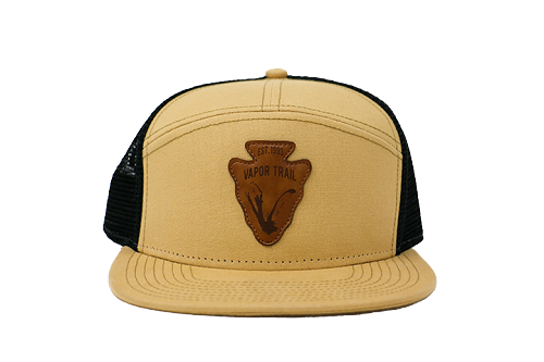 Sandstone Arrowhead Trucker Hat (Flat Bill)