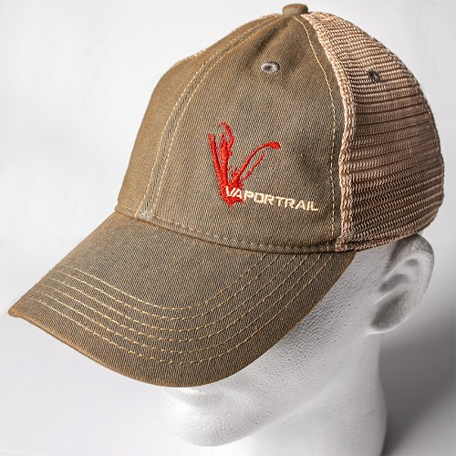 Vapor Trail Grey Trucker