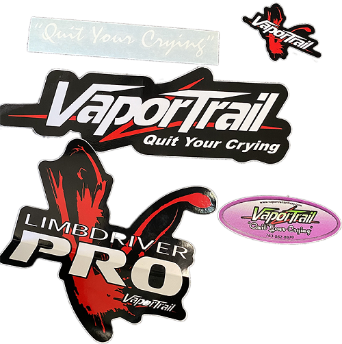 SMALL STICKER/DECAL PACK OF 5